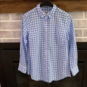 1160108d Women Vineyard Vines Gingham Shirt on Poshmark